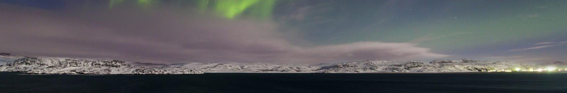 Schneemobil Reise Finnland Norwegen Arctic Ocean
