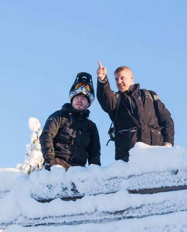 Schneemobil Reise Lappland PerfectTours (5)