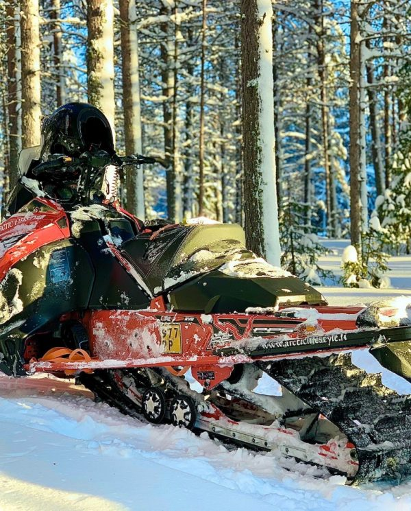 Schneemobil Reise Lappland Perfect Tours (17)