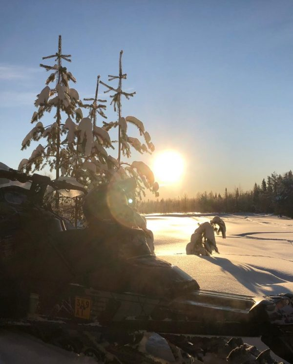 Schneemobil Reise Lappland Perfect Tours (48)
