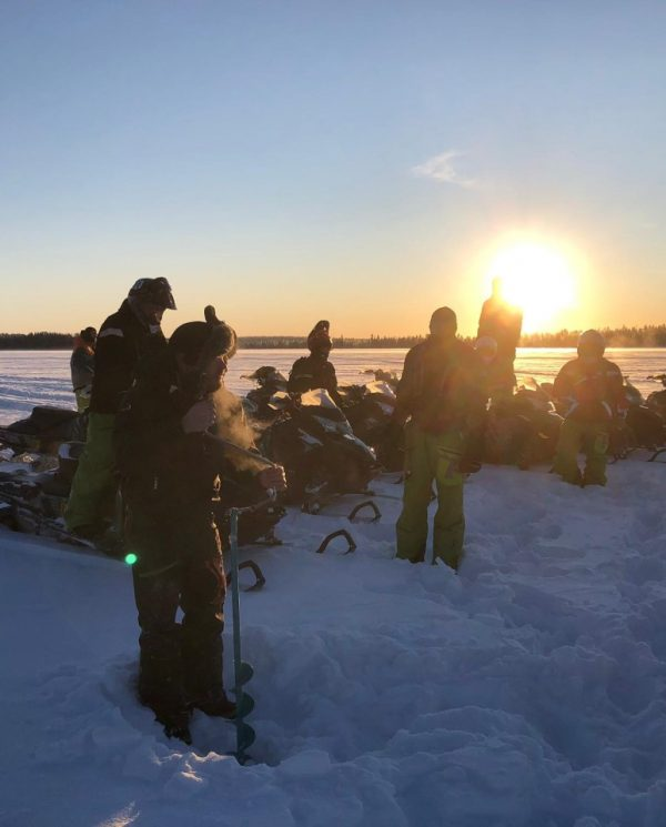 Schneemobil Reise Lappland Perfect Tours (49)