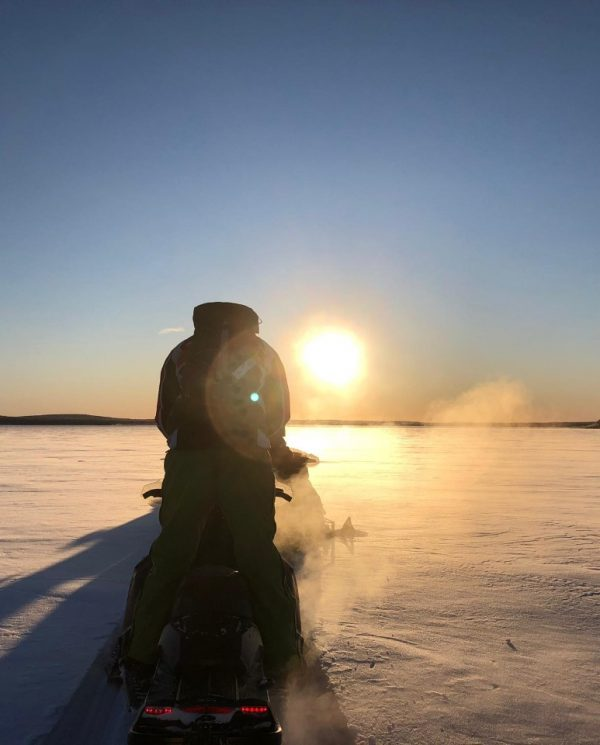 Schneemobil Reise Lappland Perfect Tours (50)