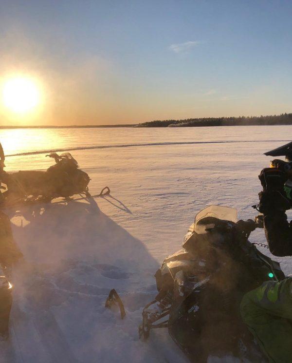 Schneemobil Reise Lappland Perfect Tours (51)