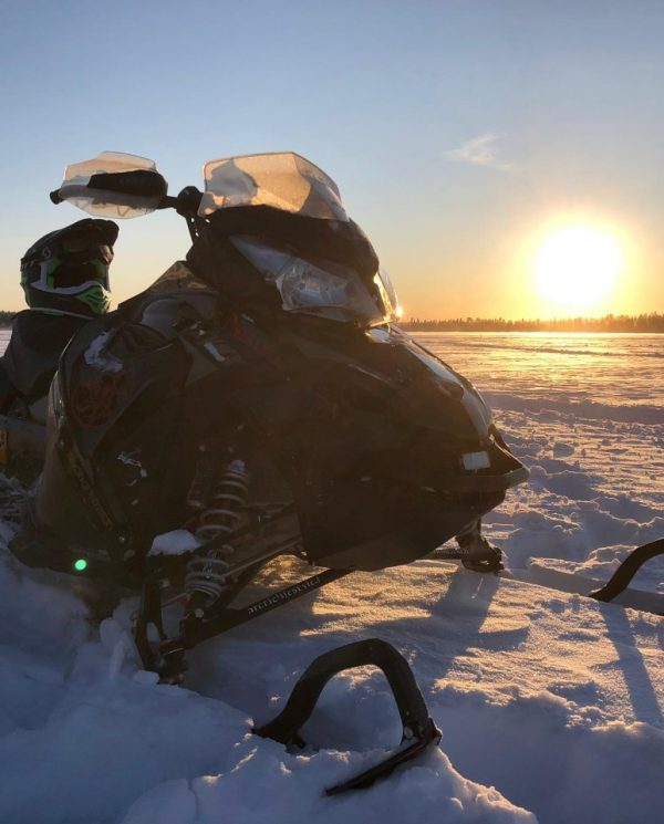 Schneemobil Reise Lappland Perfect Tours (53)