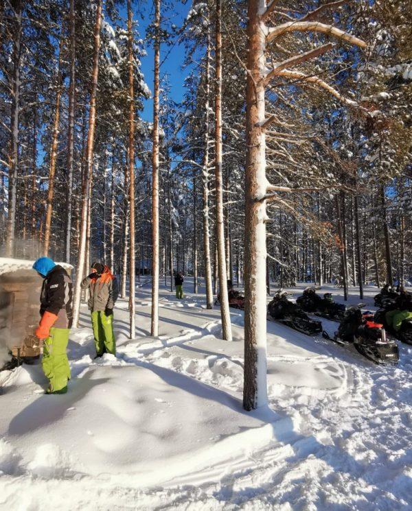 Schneemobil Reise Lappland Perfect Tours (59)