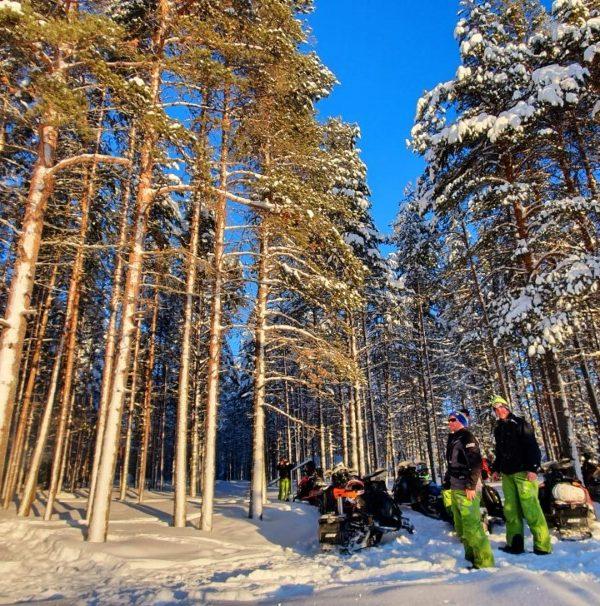 Schneemobil Reise Lappland Perfect Tours (61)