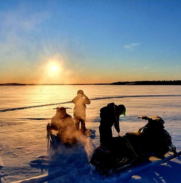 Schneemobil Reise Lappland Perfect Tours (62)