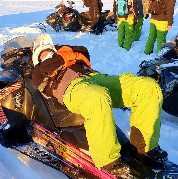 Schneemobil Reise Lappland Perfect Tours (64)