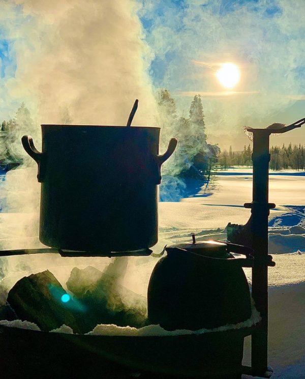Schneemobil Reise Lappland Perfect Tours (69)