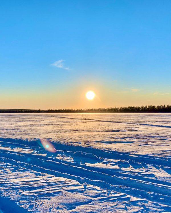 Schneemobil Reise Lappland Perfect Tours (71)