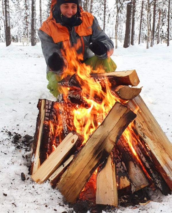 Schneemobil Reise Lappland Perfect Tours (78)