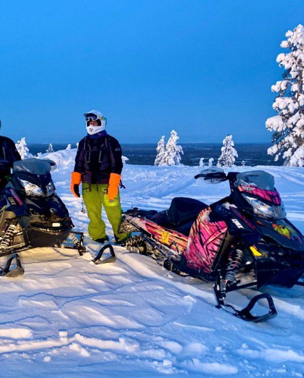 Schneemobil Reise Lappland Perfect Tours (91)